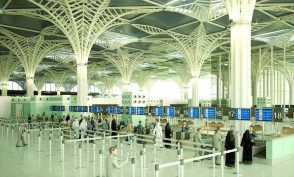 Prince Mohammed bin Abdulaziz International Airport in Madinah.