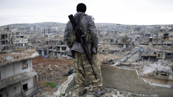 Syrian rebels said they had captured a major Syrian army base in the south of the country on Tuesday.