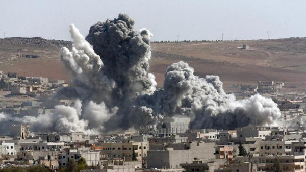 The coalition has been targeting ISIS in Syria since September.