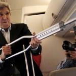 Kerry, Zarif begin nuclear talks in Vienna