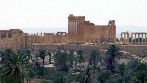 Syria Palmyra Glance