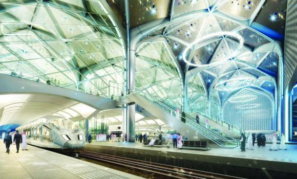 The project consists of electric tracks between Makkah, passing through Jeddah and reaching Madinah.