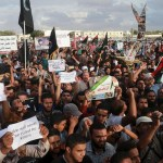 Rockets kill nine at Libya protest against U.N. deal