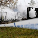 Swedish police suspect arson caused blaze at planned asylum center