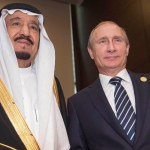 King Salman meets with Putin, Cameron in Antalya