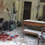Strikes on Syrian school district, other areas, kill 28