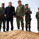 Tunisia unveils anti-militants fence on Libyan border