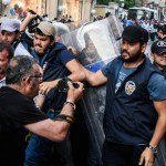 Istanbul locked down on protest anniversary