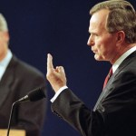 Bush handover note to Clinton has Americans nostalgic