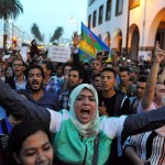 Protests erupt in Morocco after fishmonger crushed to death