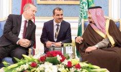 King Salman and Turkish President Recep Tayyip Erdogan