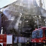 Fire damages historic Ottoman mosque in Greece