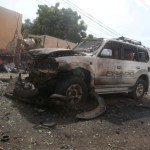 Al Shabaab car bomb outside Mogadishu army base kills at least 15