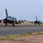 Coalition air raids strike Houthi sites on the outskirts of Sanaa