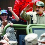 Army declares loyalty to Maduro as Venezuela braces for giant rally