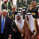 'A new page' as US President Donald Trump lands in Saudi Arabia