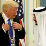 King Salman presents Trump with Saudi Arabia's top civilian honor