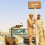 Egyptian air strikes hit 12 vehicles crossing from Libya