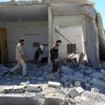 Extremists assault prompts air strikes in Syria safe zone