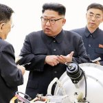 North Korea leader says he will complete nuclear program