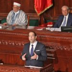 Tunisia's new govt gets party backing for reform push