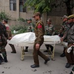 Nine killed as gun battle rages in army camp in Indian-administered Kashmir