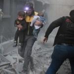 14 dead, 75 injured in latest Assad raids on eastern Ghouta