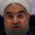As Trump and Macron meet, Iran's Rouhani warns on nuke deal