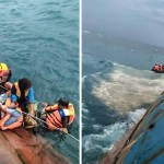 Passengers rescued from stricken Indonesia ferry, 31 dead
