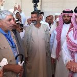 A royal welcome for first Iraqi Hajj pilgrims at Arar crossing