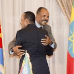 Ethiopian, Eritrean leaders visit border, in further step toward warmer ties