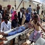 Car bomb kills six outside Somali government office
