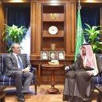 Al-Jubeir meets European envoys in Riyadh