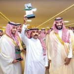 Saudi crown prince attends closing ceremony of camel festival