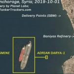 Pompeo: Adrian Darya 1 is transferring oil to Syria despite promises