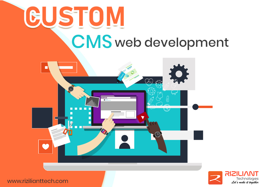 CUSTOM CMS DEVELOPMENT | RIZILIANT TECHNOLOGIES