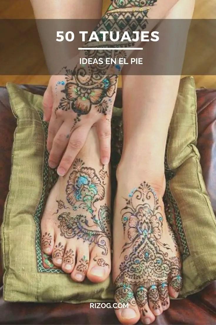 50 Tatuajes De Mujer En El Pie Para Morirse