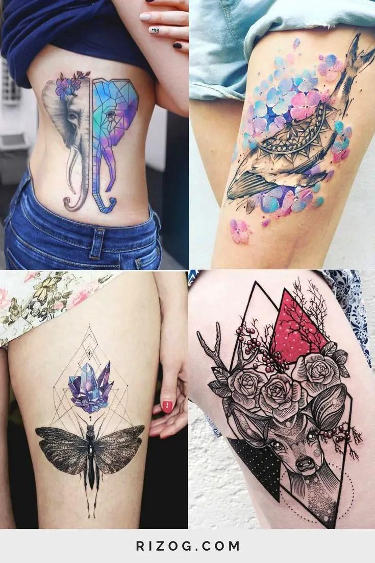 Los Más Delicados Tatuajes Para Mujeres Que Harán Que Corras A