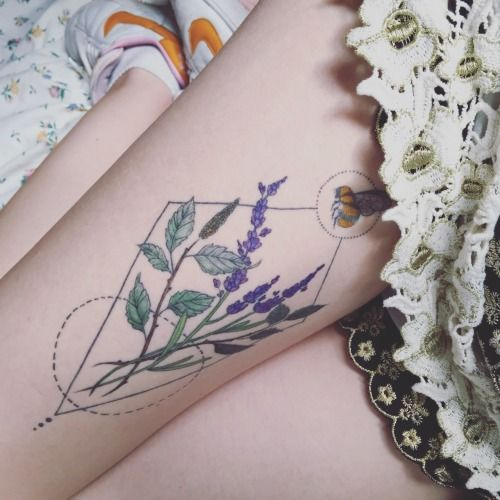 Tatuajes De Piernas Elegantes Que Te Hacen Decir Necesito Eso