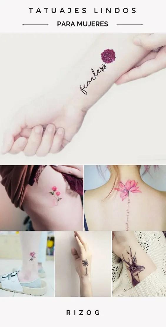 36 Ideas De Tatuajes Lindos Que Cada Chica Querría