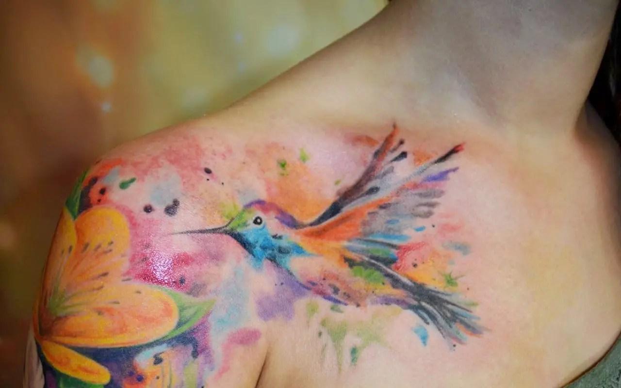 Atractivos Tatuajes Para Mujeres En El Hombro