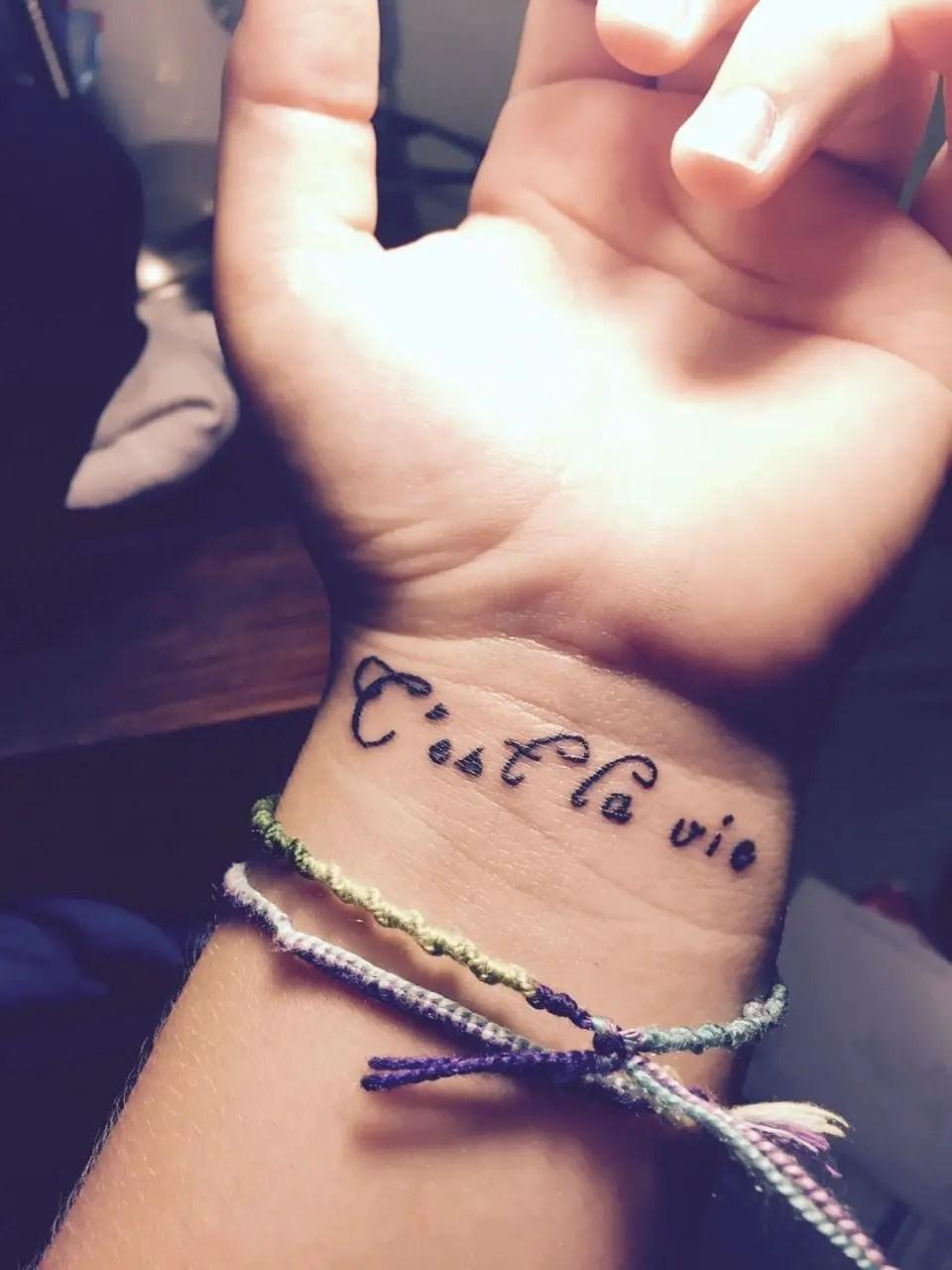 Preciosos Tatuaje En La Muñeca Para Mujeres