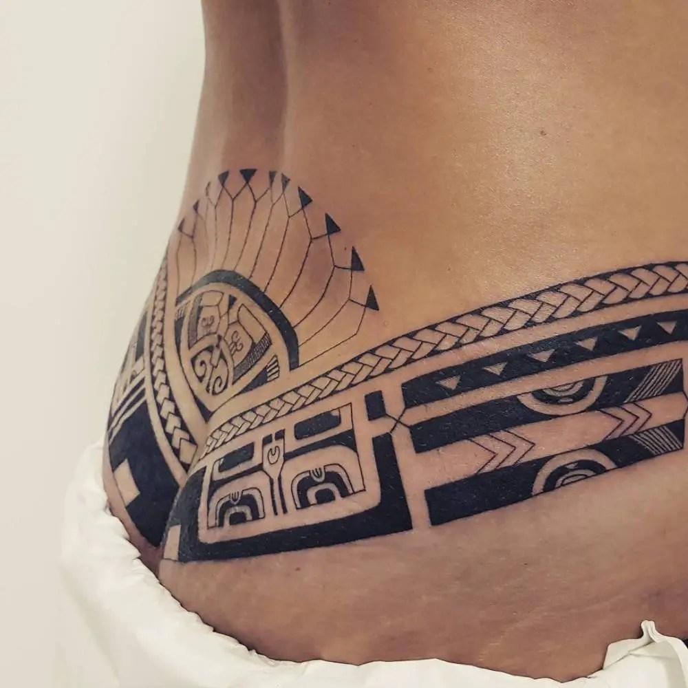 Los Tatuajes De Tribales Y Su Significado