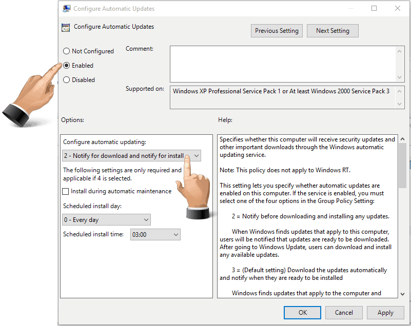 group policy editor win 10 home