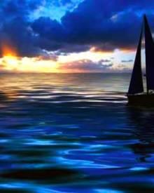 sunset-sailing
