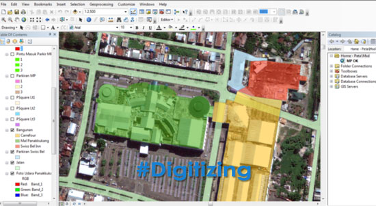 Digitizing-Map using ArcGIS