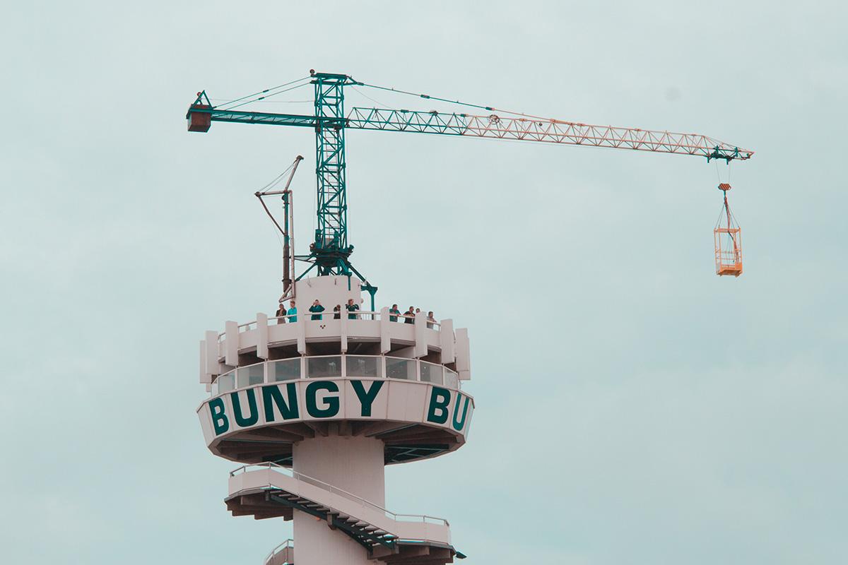 Bungy Jumping di Belanda