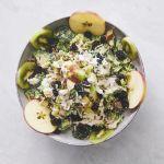 Greek broccoli salad