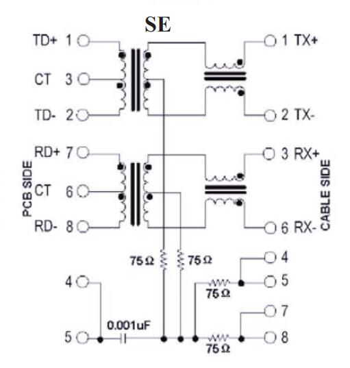 1X1 Port ARJ11D-MDSE-A-B-GMU2 RJ45 Single Port Connector