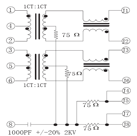 Shielded 10/100 Base 8P8C SMT RJ45 PCB Connector